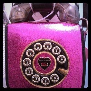 Betsey Johnson Phone crossbody NWT